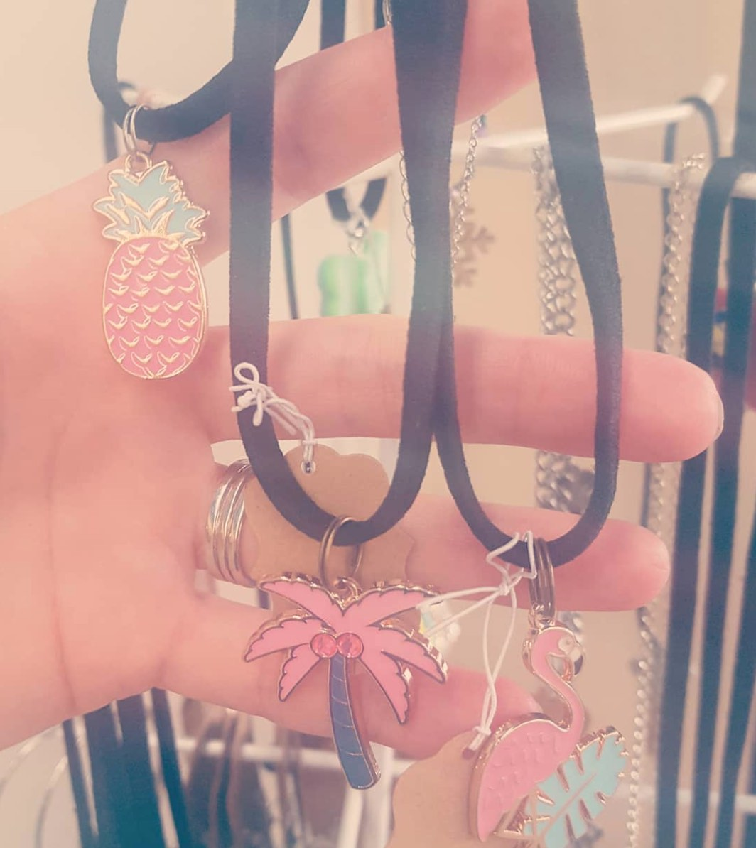 Summer Jewelry 2018: Flamingos, Pineapples, Palm Trees